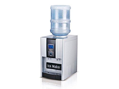 Professionele ijsblokjesmaker en waterdispenser in één, 150 watt, met wateraansluiting; ZB-06B GGG