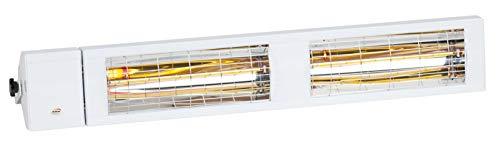 Burda Infrarot Heizstrahler Low Glare SMART IP24 Multi 4000 Watt in Weiß