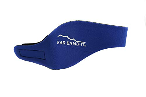 Ear Band-It Swimming Headband - Invented by Physician - Hold Ear Plugs in - The Original Swimmer s Headband - Doctor Recommended - Secure Earplugs
