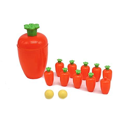 HDZW Kinder Bowling Ball Spielzeug Mini Bowling Set Pädagogisches Spielzeug Tragbare Indoor- oder Outdoor-Familie Spaß-Spiel Das Beste Geburtstagsgeschenk 6.8 (Size : 15 * 8.5cm)