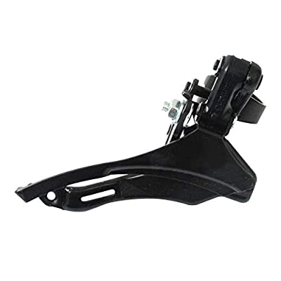 Bike Front Derailleur, Universal Bicycle Steel Speed Changer TZ 30, Replacement Parts Accessories for Bikes/Cruisers/Electric/Hybrid Mountain Cycle