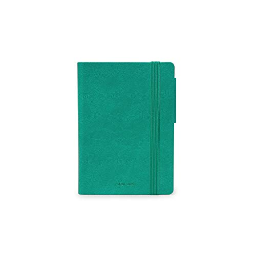 Legami - Agenda Giornaliera 16 Mesi 2020/2021 Small, Turquoise