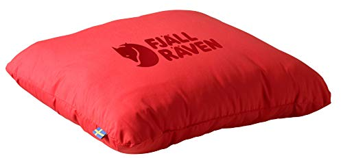 FJÄLLRÄVEN Travel Pillow Almohada Montañismo, Alpinismo y Trekking, Adultos Unisex, Rojo (Red), 30 Centimeters