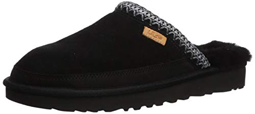 UGG Male Tasman Slip-On Slipper, Black Tnl, 8 (UK)