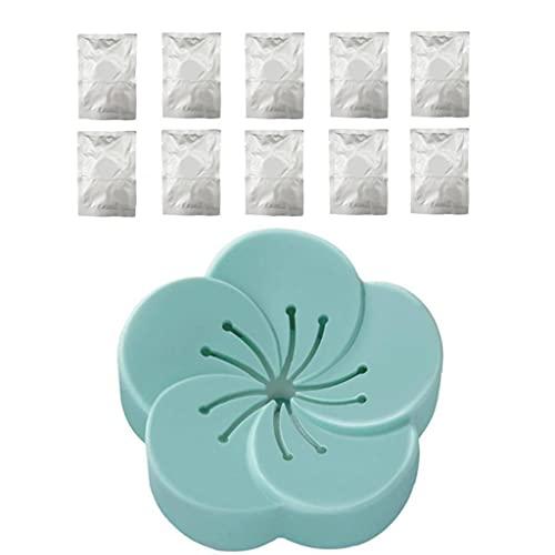 AtheMeet Ambientador de Aire del hogar sólido ambientador de Coche Eliminar el Olor aromaterapia Caja Multi Uso Dormitorio Perfume Armario Caja con 10pcs tabletas de aromaterapia