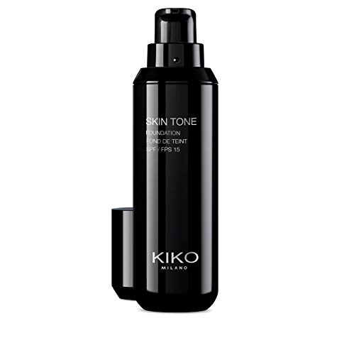 KIKO Milano Skin Tone Foundation 09   Fond De Teint Fluide Enlumineur, Spf 15