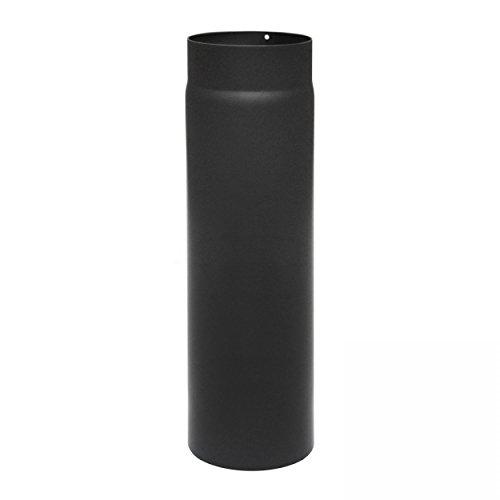 raik SH003-120-sw Rauchrohr/Ofenrohr 120mm - 500mm schwarz