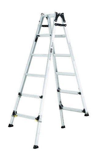 アルインコ 伸縮脚立はしご兼用脚立 PRW-120FX