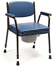 Silla WC con inodoro - modelo Anota Confort 053 sin ruedas y regulable en altura