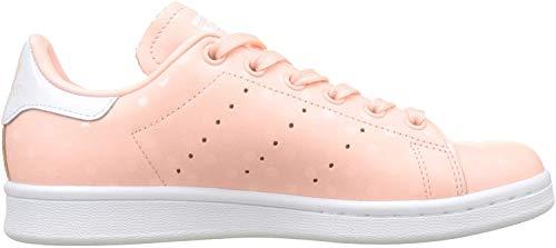 adidas Damen Stan Smith Sneaker, Pink (Haze Coral/Haze Coral/Footwear White 0), 41 1/3 EU