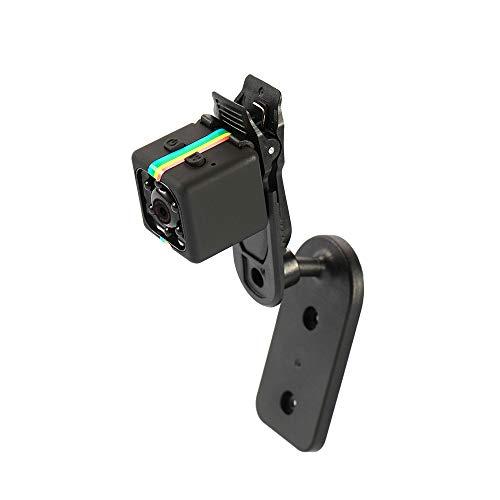 Fesjoy Mini Camera SQ11 1080P Portatile Sport DV Videocamera per la Visione Notturna Multifunzionale Domestica Fotocamera Videoregistratore HD Car Telecamera Nascosta