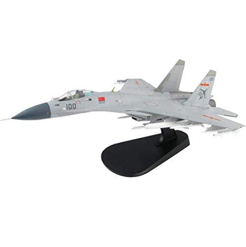 JHSHENGSHI Militärische J-15 Flying Shark Fighter-Legierung im Maßstab 1:72, Spielzeug und Geschenk für Erwachsene, 12,2 Zoll x 8,2 Zoll