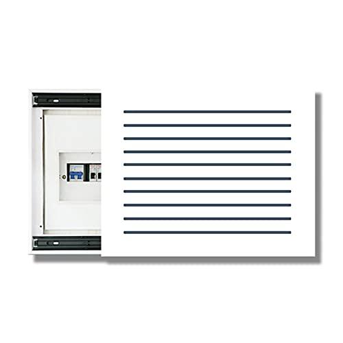 Caja de Conexiones Tapa Cuadro Electrico - Contador De Luz Cubre Cuadros Decorativos Modernos Caja Medidor Eléctrico Pintura Decorativa Vacía Colgante Desmontable Creativa,A