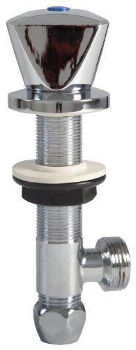 Geräte-Untertischventil | Mit Rückflussverhinderer | Zusatzventil | Gerätezusatzventil | Chrom