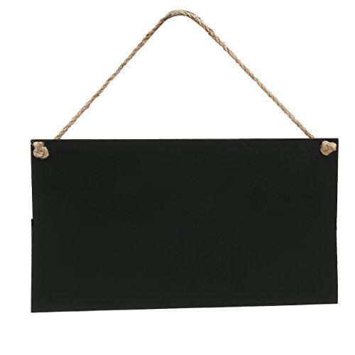 rosenice Klein Kreidetafel Memotafel Tafel zum Aufhängen für Dekoration 26 x 14cm