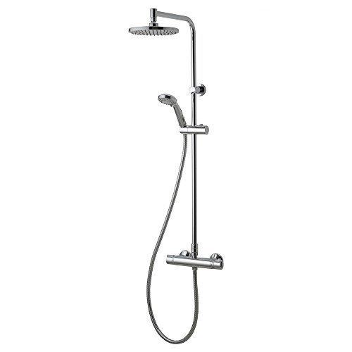 Aqualisa Midas Plus Thermostatic Bar Mixer Shower With Diverter (HP/Combi)