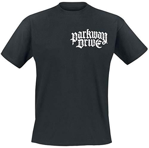 Parkway Drive Burn Your Heaven Männer T-Shirt schwarz L 100% Baumwolle Band-Merch, Bands