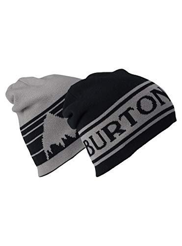Burton Herren Billboard Beanie Mütze, True Black/Iron Gray, One Size