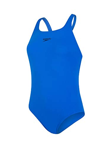 Speedo Essential Endurance + Medalist Bañador, Mujer, Azul Bondi, 36 (ES 42)