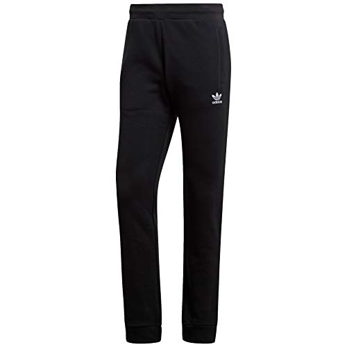 adidas Originals mens Trefoil Essentials Pants Black Medium