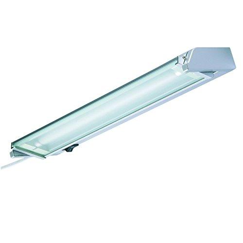 Hi Lite 14020034 Unterbauleuchte LONDON 21W T5 Silber 85cm schwenkbar inkl. Leuchtmittel