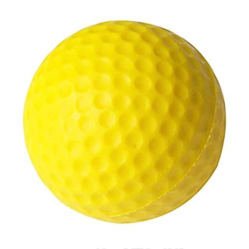 Kilofly Lot de 36 balles de Golf en Mousse Jaune Taille Unique pc48