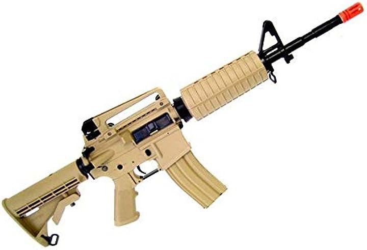 Fucile softair g&g fucile elettrico gr16 carbine plastic softair 0,99 joule B08W7WD8RX