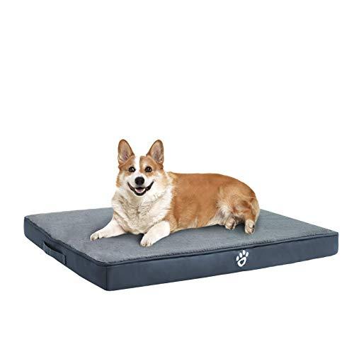 FRISTONE Dog Bed Large,Washable Orthopedic Form Dog Bed with Removable...