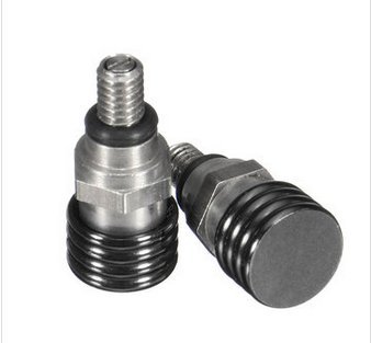 Alamor Paar M4X 0.7 Mm Gabel Luft Entlüftungsventil Schraube Für Enduro KTM Off Road Husky Wp Marzocchi-Schwarz