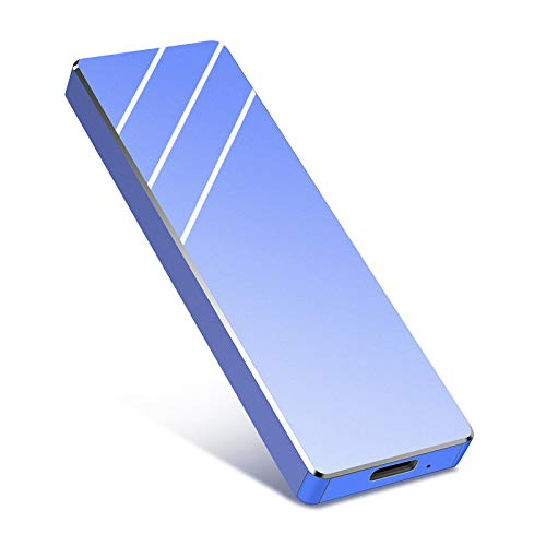 Externe Festplatte 1tb,USB 3.1 für PC, Mac, Desktop, Laptop, MacBook, Chromebook (1tb, Blau)