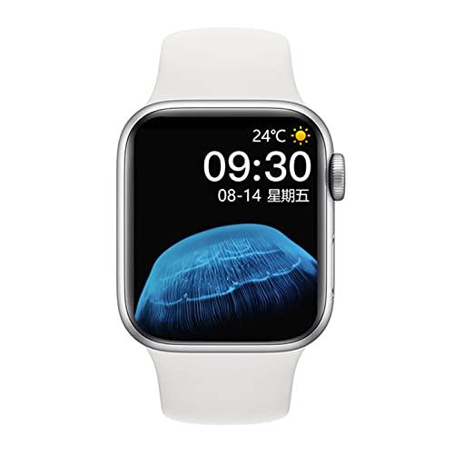 Smart Watch Men HW22 PRO Series 6 Sport Bluetooth Chiamata ECG Pressione sanguigna Pressione cardiaca Fitness Donne SmartWatch per iOS Android,B