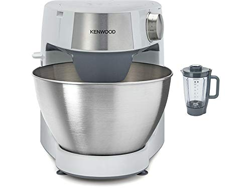Kenwood Prospero KHC29 BOWH Compact Stand Mixer Kitchen Machine 4.3 Litre Bowl 3 Bowl Tools Jug blender 4.3L bowl 1000W White