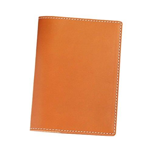 (ブラン・クチュール)BlancCouture 本革手帳カバー「A6サイズ」ノートカバー/国産フルタンニンドレザー(キャラメル)