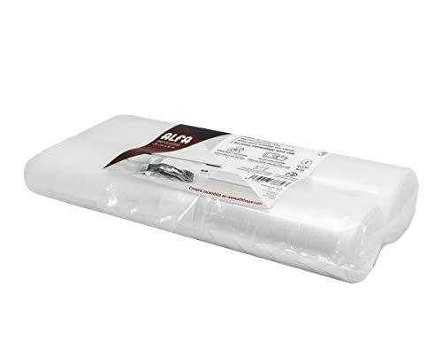 Alfa 0MP2515000 Rollos para vacío 28cm 6m, Plástico Adaptado a Alimentos, No Aplica