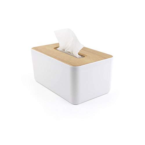 SwissWell Taschentuchbox Holz Taschentücher Kosmetiktücher Box Taschentücher Papierbox Aufbewahrungsbox Papiertuchspender Taschentuchspender