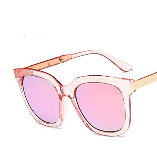 ShSnnwrl Único Gafas de Sol Sunglasses Gafas De Sol Cuadradas Vintage para Mujer Gafas De Compras De Diseñador De Marca Gafas con