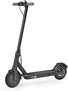Xiaomi Electric Scooter Mi M365, max speed 25km/h, fully foldable & adjustable, comes with full UK Warranty, Includes 2 Spare Tyres- Black