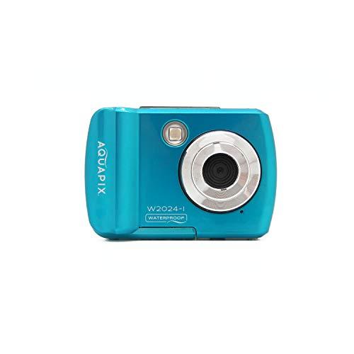 Easypix Easypix W2024-I Splash Iceblue wasserdichte Kamera, 14 MP, Doppelschürze, Blau