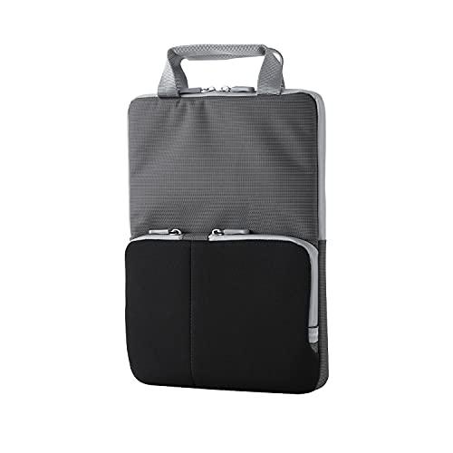 エレコム パソコンケース 11.6インチ PC・タブレット対応 ハンドル付 ポケット付 ブラック BM-IBHPTV11BK