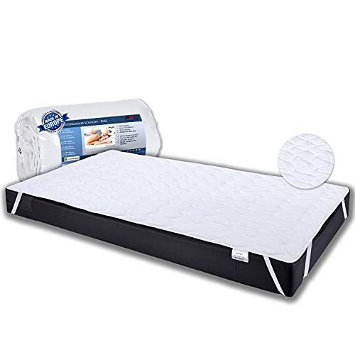 PHD Primera Matratzenschoner für Babybetten 70x140 cm - 60°C waschbar u. Allergiker-empfohlen für mehr Hygiene im Bett. Matratzenauflage und Matratzenschutz für Babybett u. Kinderbett für 70 x 140