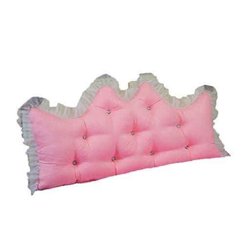 Triangular grande en forma de cuña amortiguador de la almohadilla, amortiguador trasero de noche, cojín del sofá cama, tatami suave respaldo cama de madera maciza, gran cama de madera respaldo, cama d