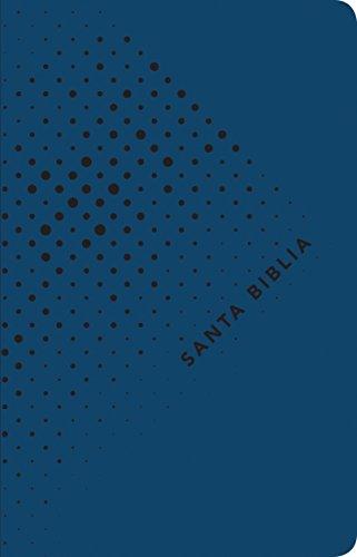 Santa Biblia NTV, Edición ágape, Noche (SentiPiel, Azul) (Spanish Edition)