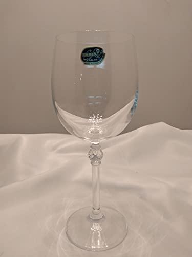 Set 6 copas vino 195 ml cristal Bohemia modelo Florence