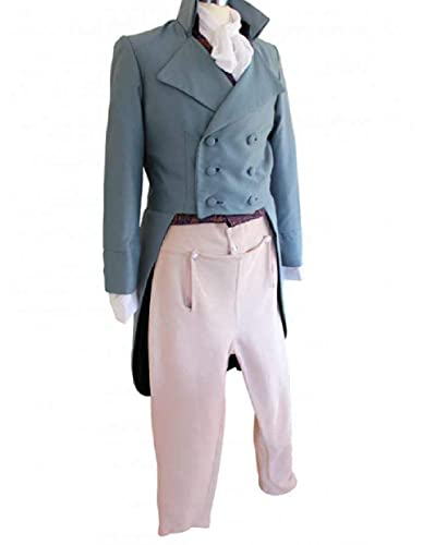 Disfraz victoriano para hombre del siglo XVIII Regency Chaleco