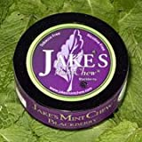 Jake's Mint Chew - BlackBerry - 5 Pack - Tobacco & Nicotine Free!
