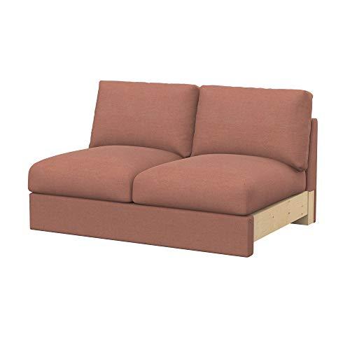 Soferia Funda de Repuesto para IKEA VIMLE módulos sofá de 2 plazas, Tela Elegance Blush Pink, Rosa