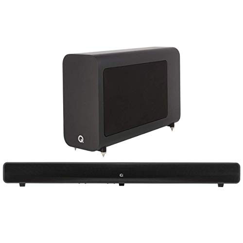Q Acoustics M4 Superbass Soundbar Subwoofer Package