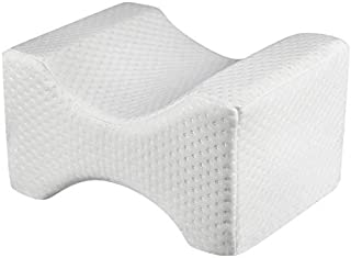 Juwenin Home Knee Pillow - for Hip, Back, Leg, Knee Pain Relief - Ideal for Side Sleepers, Pregnancy & Right Spine Alignme...