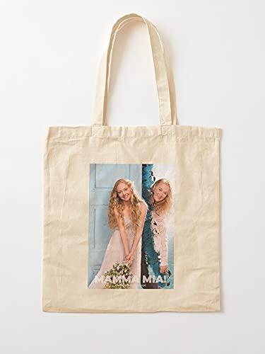 Générique Cult Movie Mia Mamma Movies Cinema Film   Bolsas de lona con asas bolsas de la compra de algodón duradero