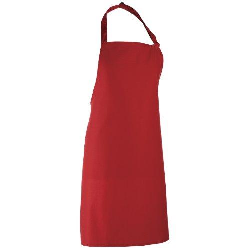 Premier Schürze bunt (2 Stück/Packung) (Einheitsgröße) (Rot)